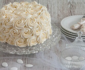 Le rose cake, le plus simple des cakes design