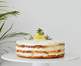 bolo simples limão // simple lemon cake