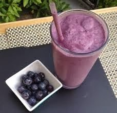 Blueberry Smoothie with a twist