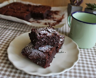Brownies de cerveza negra {Degustabox}