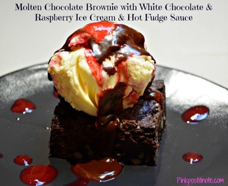 Molten Chocolate Brownies Recipe