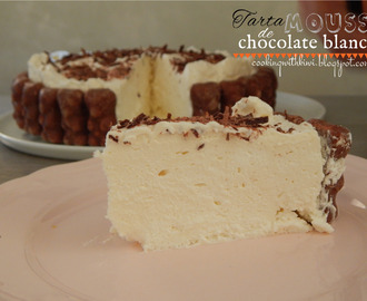 TARTA MOUSSE DE CHOCOLATE BLANCO