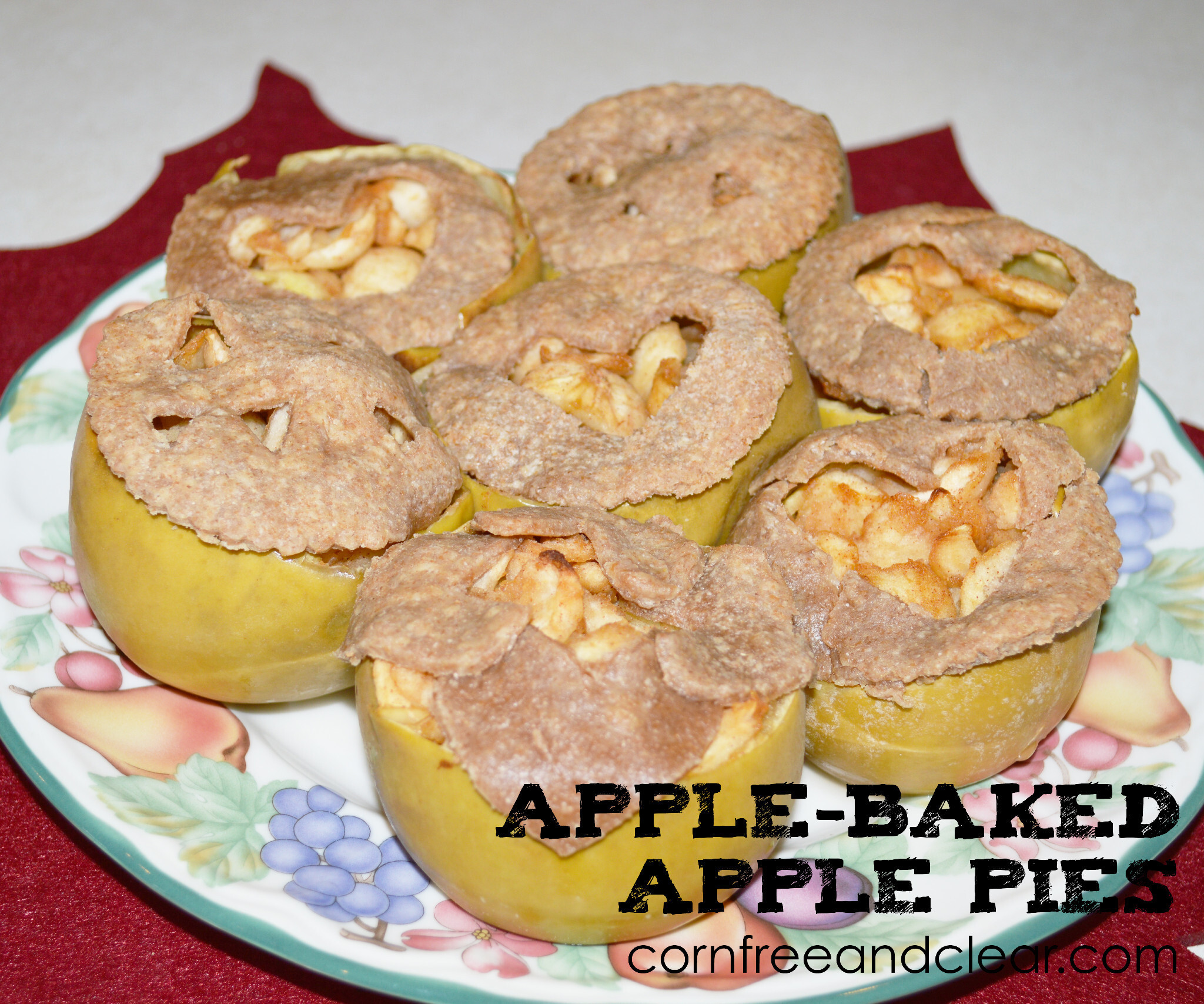 APPLE-BAKED APPLE PIES