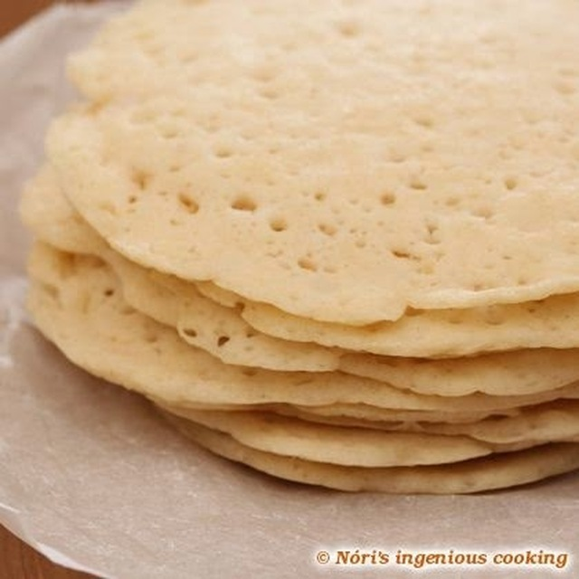 Appam - Indian coconut pancakes/flatbread (gluten-free, egg-free, vegan recipe)