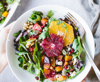 Citrusy Roasted Beet Goat Cheese Salad + $50 Kroger Gift Card Giveaway