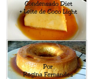 Pudim Fit de Leite Condensado Diet+ Leite de Coco Light