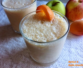 Apricot and Apple Smoothie