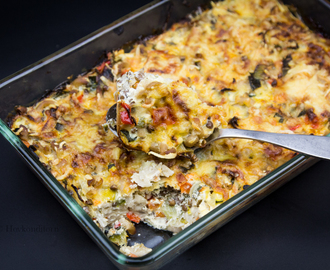 Vegetable Macaroni Casserole