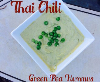 Thai Chili Green Pea Hummus