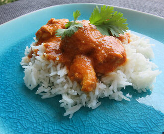 Le chicken butter masala