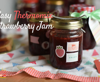 Easy Thermomix Strawberry Jam