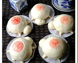 Bun In A Turtle Shape? Steamed Turtle Buns–Miku (米龟)