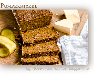 Pumpernickel Bread Recipe by Thermomix Baking Blogger