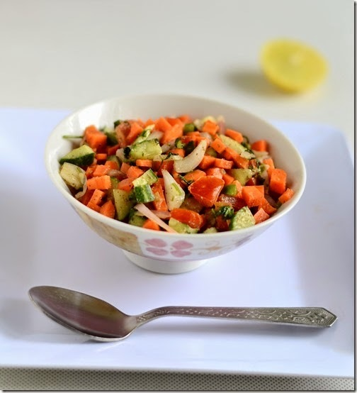 EASY INDIAN VEGETABLE SALAD RECIPE-SALAD RECIPES