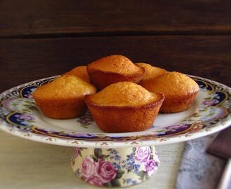 Butter lemon muffins
