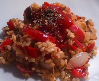 Arroz Low Calories A la Paula.-