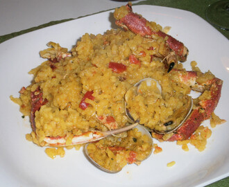 Arroz con Centollo