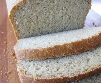 Healthy Bread in 5 - Soft Whole Wheat Sandwich Loaf