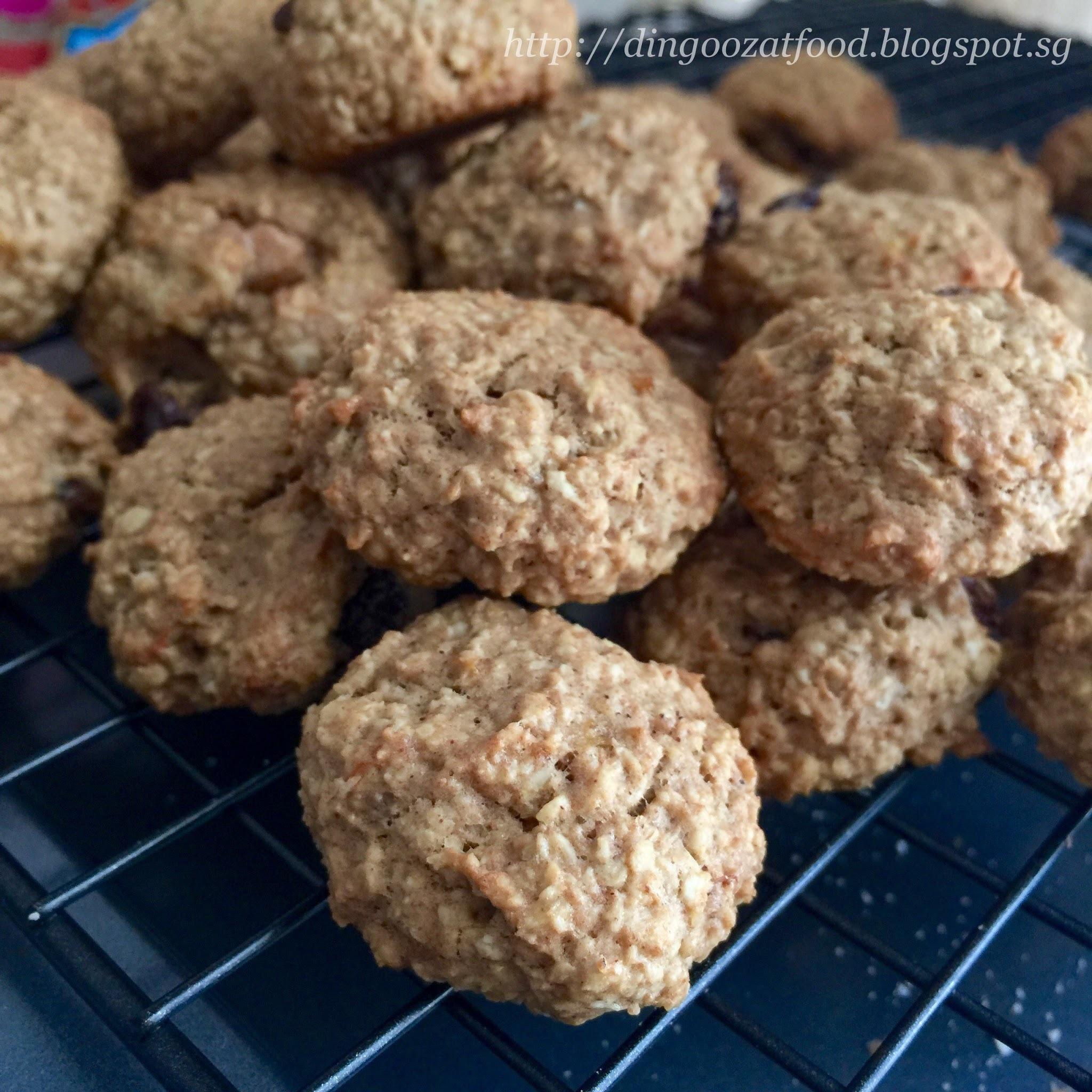Banana Oatmeal Cookies (Whole Wheat) 香蕉燕麦曲奇饼干