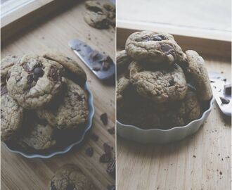 Glutenfria chocolate chip cookies