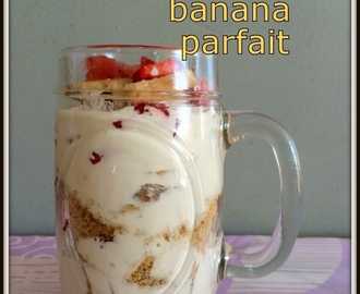 Creamy Strawberry Banana Trifle | Breakfast Fruit Trifle | Strawberry Banana Trifle For Breakfast | Strawberry Desserts