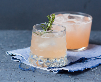 Grapefruit Greyhound Cocktail gegen das Blogtief
