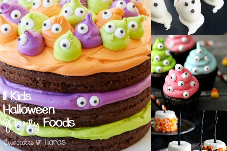 11 Kids HALLOWEEN Party Foods