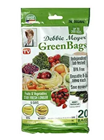 Debbie Meyer® GreenBags®, GreenBoxes™ and Other Money Saving Products