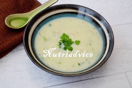 Potato and Edamame Bean Soup