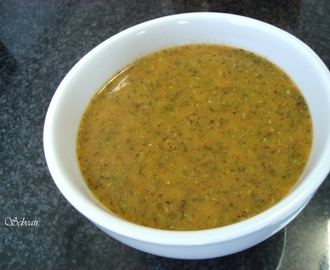 SALSA CHIMICHURRI PARA CARNES Y BARBACOAS  (thermomix)