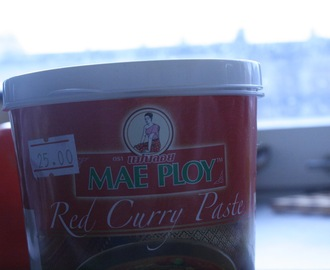 Thai Red curry paste (Rød karry pasta)