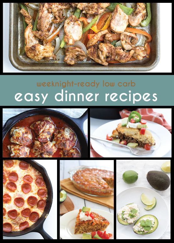 Easy Low Carb Keto Dinner Recipes