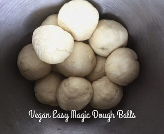 Easy Vegan Magic Dough – Only 6 Ingredients