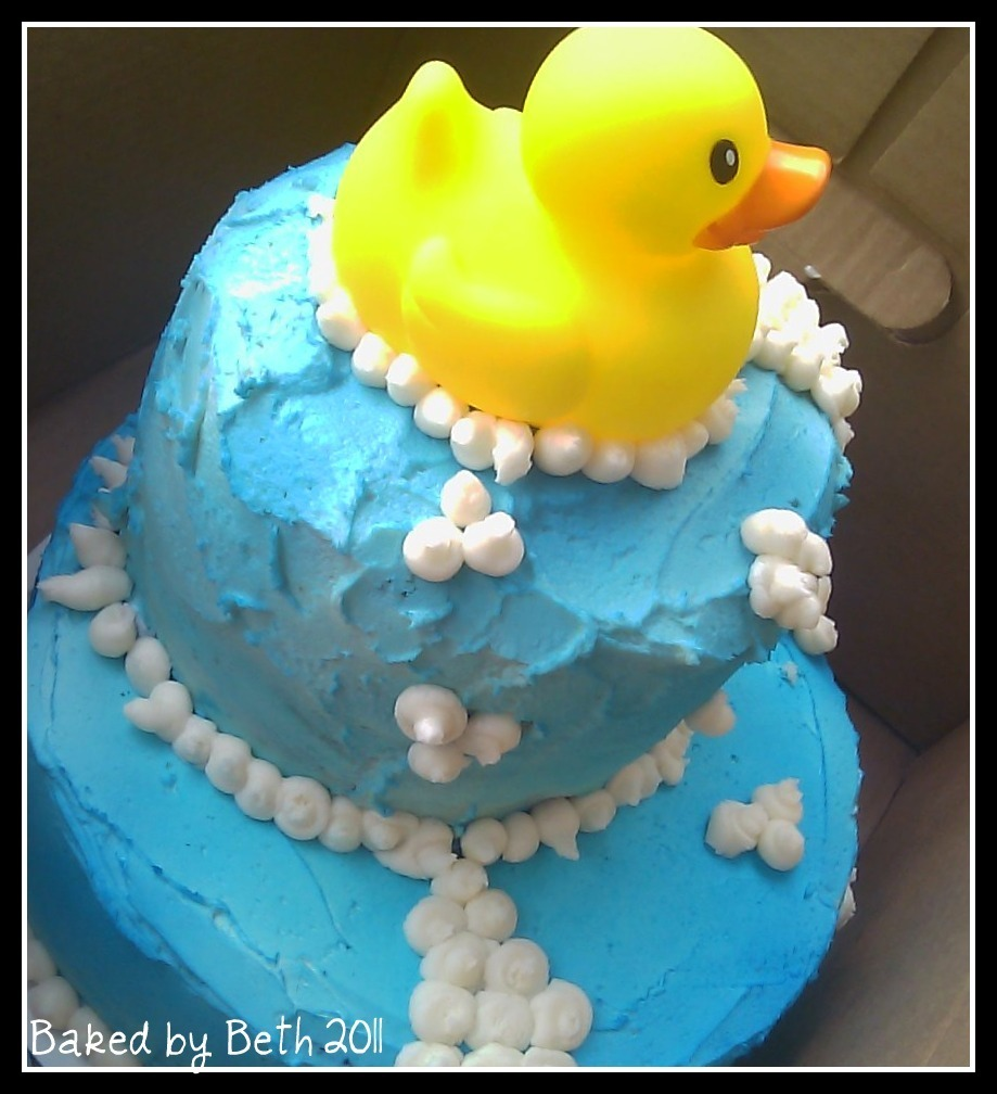Rubber Duck & Diaper Cakes