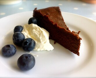Chocolate Heaven Cake – low carb, wheat free, sugar 'less', nut free, gluten free