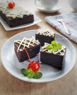 """Brownies Alpukat (BrowKat)"""