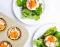 butternut squash and leek breakfast cups