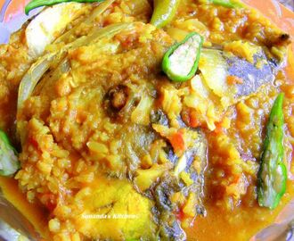 Maachher  Muror Ghonto (Fish head curry).