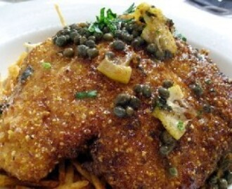 Lemon Caper Chicken Recipe