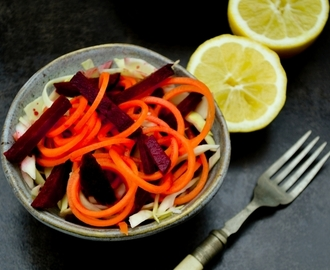 Turkish Carrot & Beetroot Side Salad