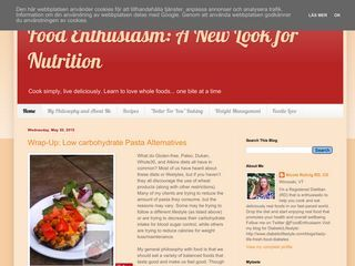 Food Enthusiasm: A New Look for Nutrition