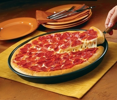 Massa de Pizza Pan (Pizza Hut)