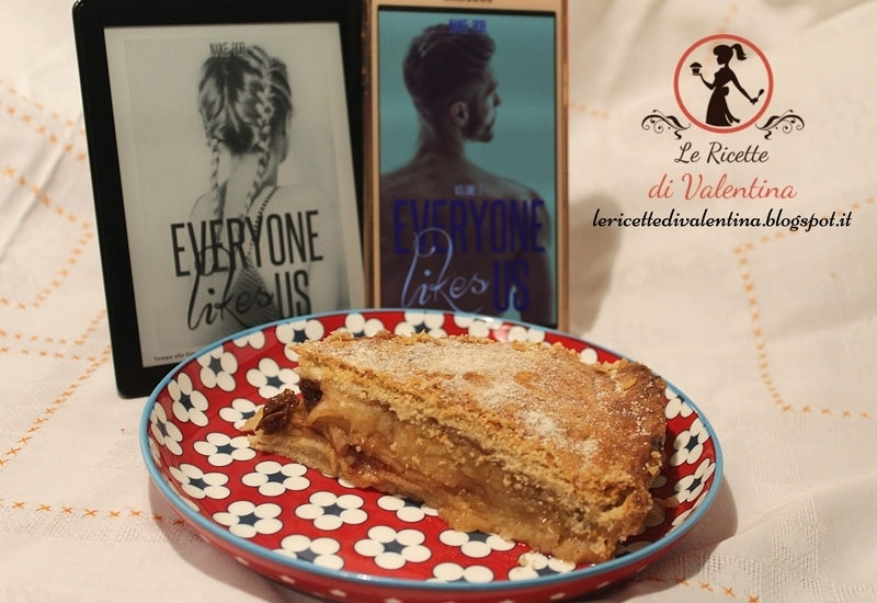 MANGIA CIO' CHE LEGGI #92: Apple pie inglese di Mary ispirata da Everyone like us 1 di Naike Ror