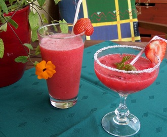 Virgin Strawberry Daiquiri & Frozen Strawberry Dream