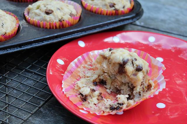 Apple Banana Chocolate Muffins aka ABC Muffins
