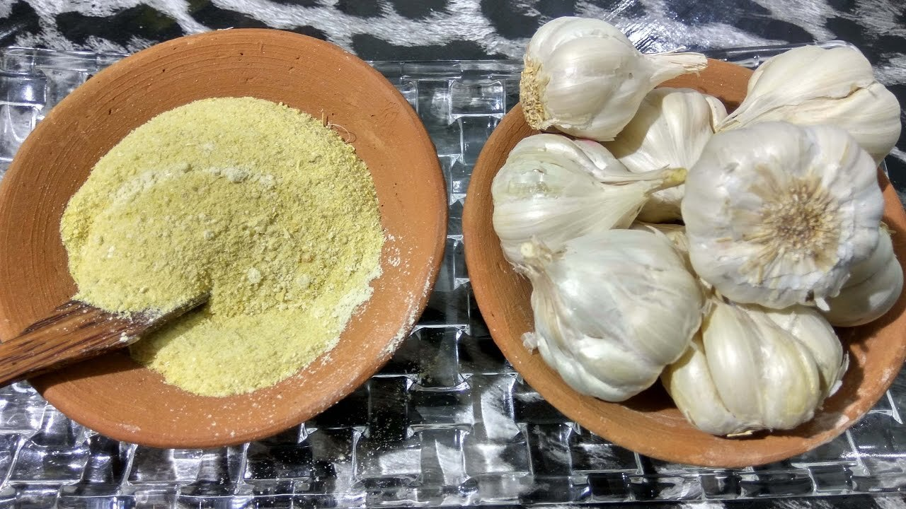 Garlic powder sundried homemade quick and easy recipe