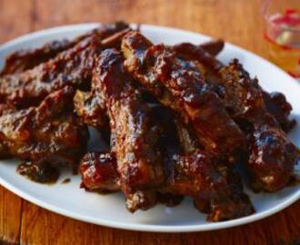 Chinese five-spice spare ribs
