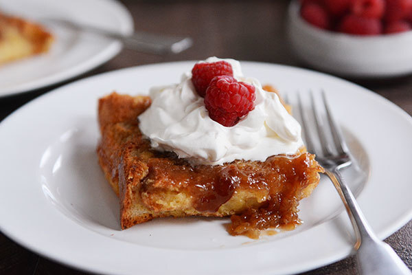 Overnight Creme Brûlée French Toast Bake