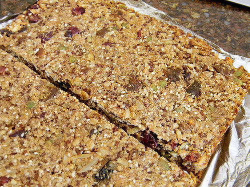 Superpower Granola Bars #EatAtoZChallenge