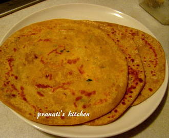 Channadal paratha: without onion garlic